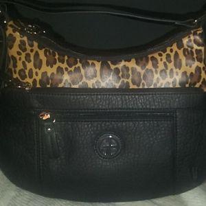 Giani Bernini Cheetah hobo bag